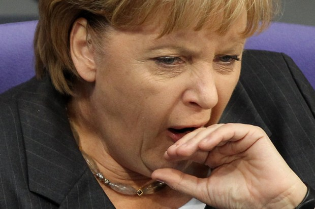 Merkelgähnt